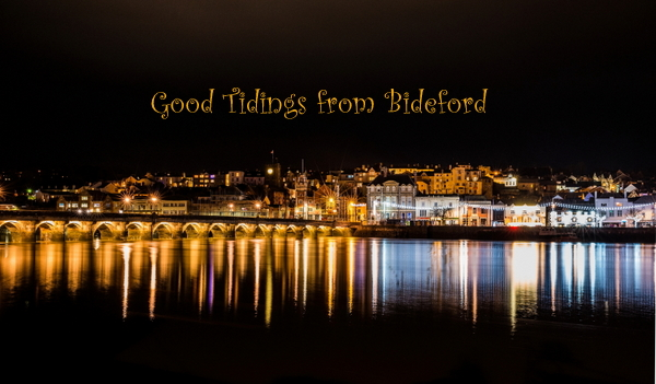 Good Tidings from Bideford. Photo copyright B. Adams (All Rights Reserved)