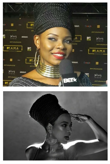 Beyonce African hairstyle