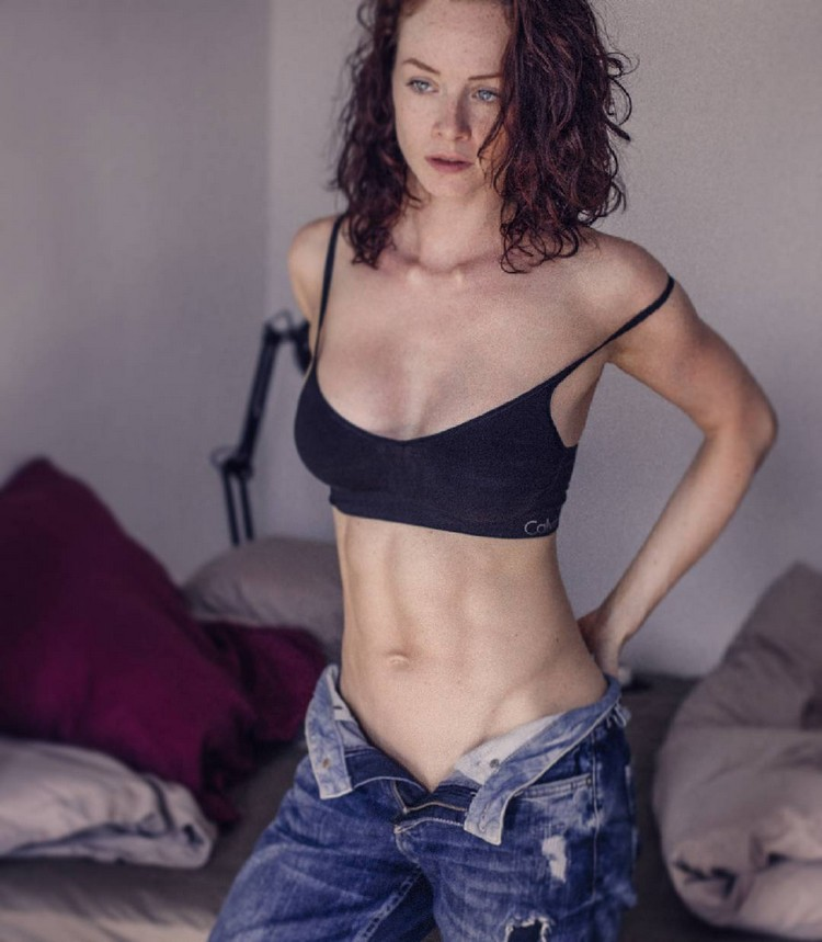 German Fitness Model Sophie S 0008