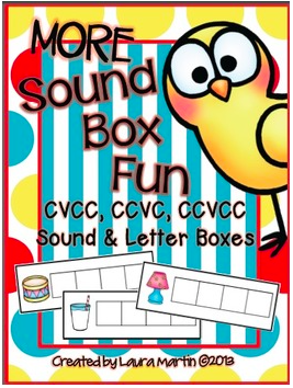 Sound Boxes to blend and segment sounds!