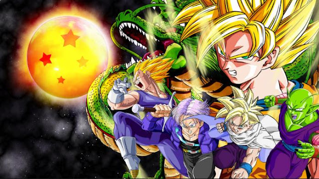 Daftar Film Anime Mirip Fairy Tail - Dragon Ball Series