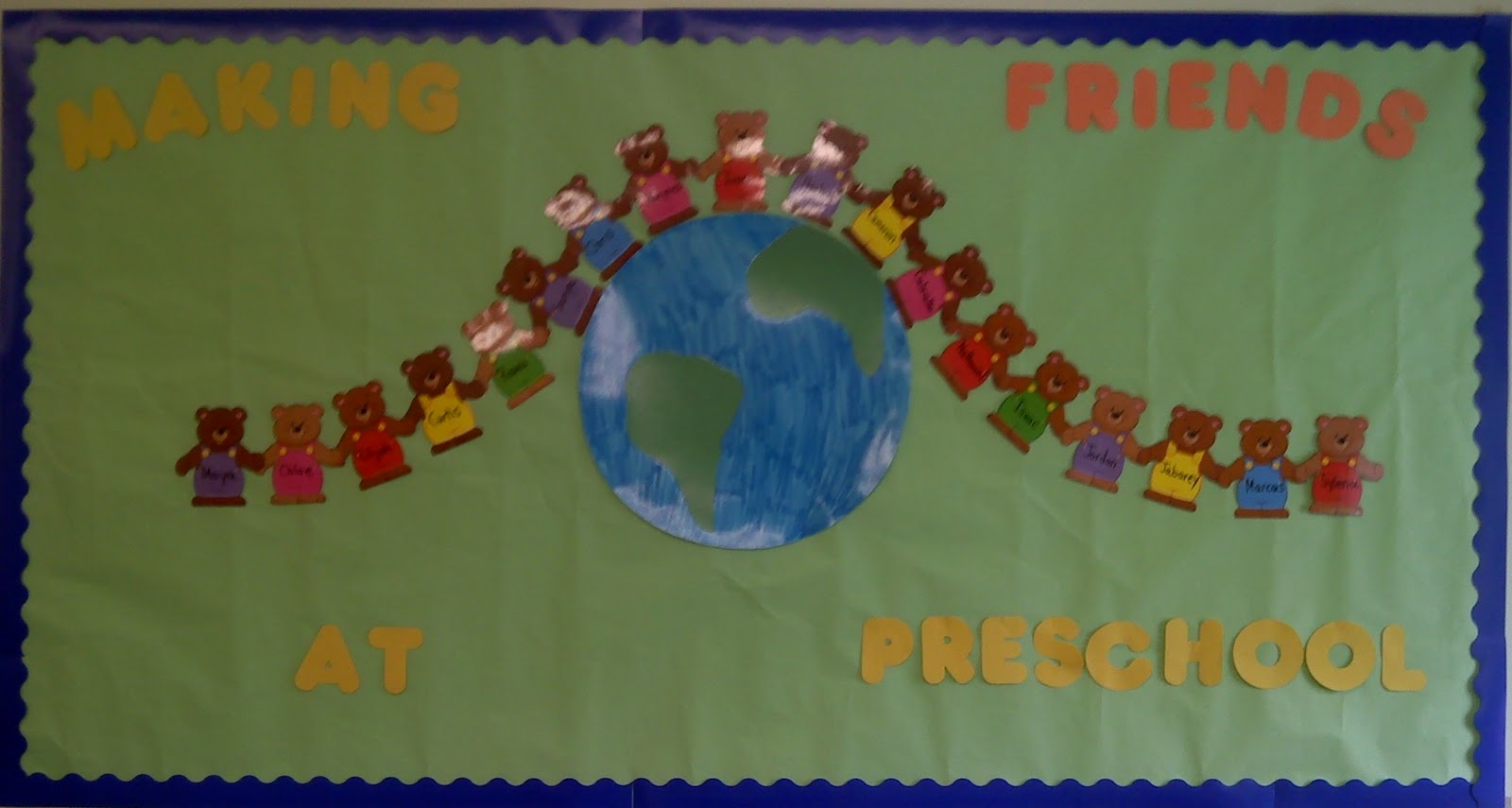 Crafts For Preschoolers Bulletin Boards