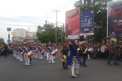 Meriahnya Karnaval Sambut Ramadhan di Semarang,