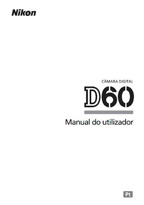 Loja da Fotografia: Manual Nikon D60 em português