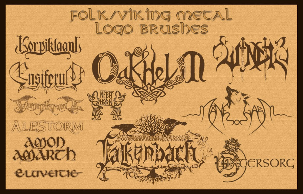 Free download of Death Metal Band Maker vector logos