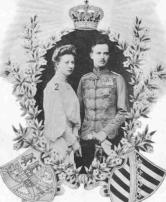 Carl Eduard Herzog von Sachsen-Coburg und Gotha-Prinzessin Viktoria Adelheid zu Schleswig-Holstein-Sonderburg-Glücksburg