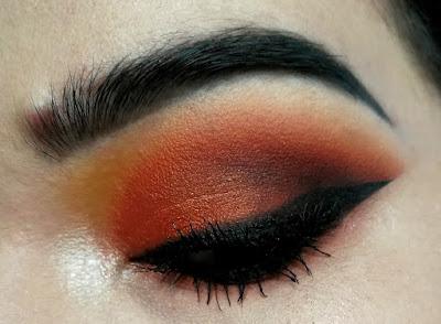Maquillage Orange et Rouge MSC