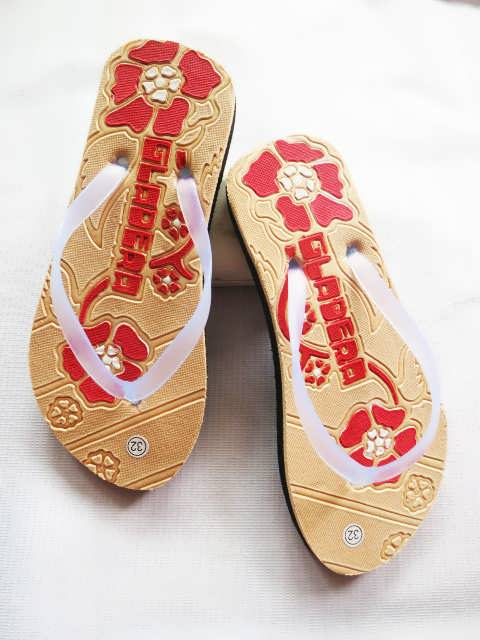Sandal Jepit Pres Anak Tanggung BJG | Spon Murah 3000