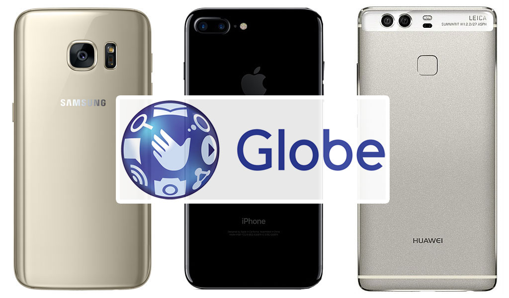 iPhone 7, Samsung S7 or Huawei P9 Globe Promo