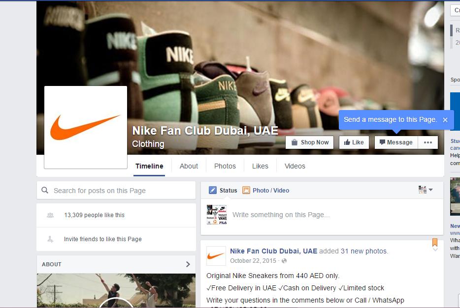 Criticar letra Creo que estoy enfermo  A Digital Marketing Analysis of Top Shoes Brand: Nike Fan Page