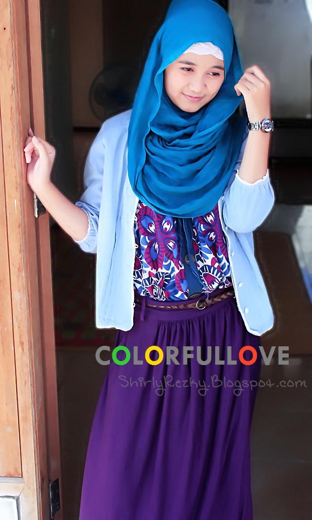Colorfullhijabee S Tips Padu Padan Hijab Dan Baju