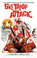 Póster película Ski Troop Attack