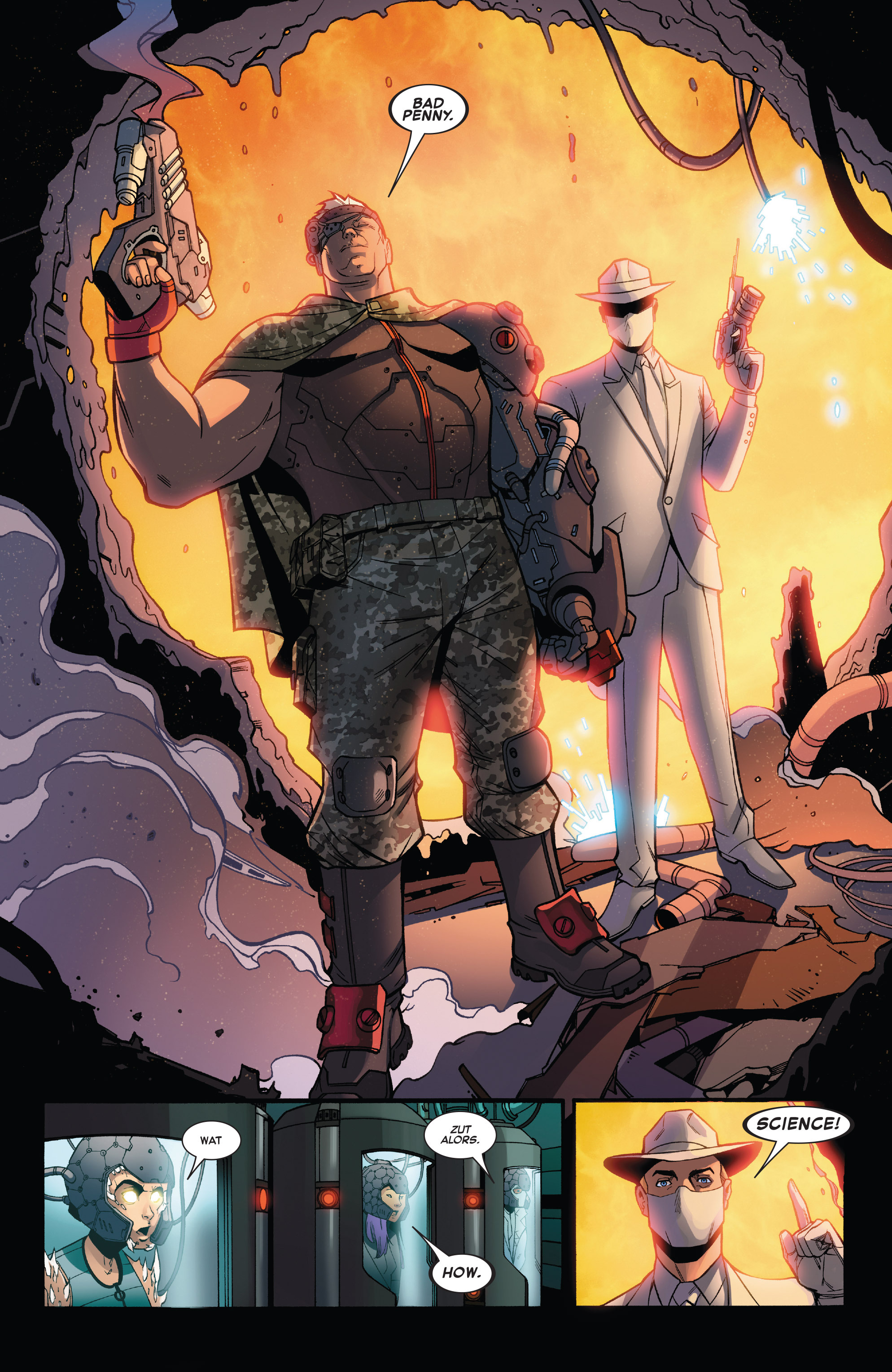 Read online X-Force (2014) comic -  Issue #6 - 11