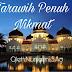 Renungan Ramadhan - Tarawih Penuh Nikmat