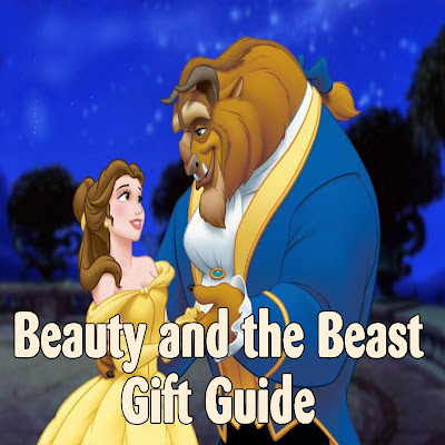 Give in to your romantic side and embrace the fairy tale with these fun Beauty and the Beast gift ideas.  You'll find a little bit of quirky, unique, sweet, and lovely with these Christmas gift or birthday gift offerings to your favorite Beauty and the Beast fan.