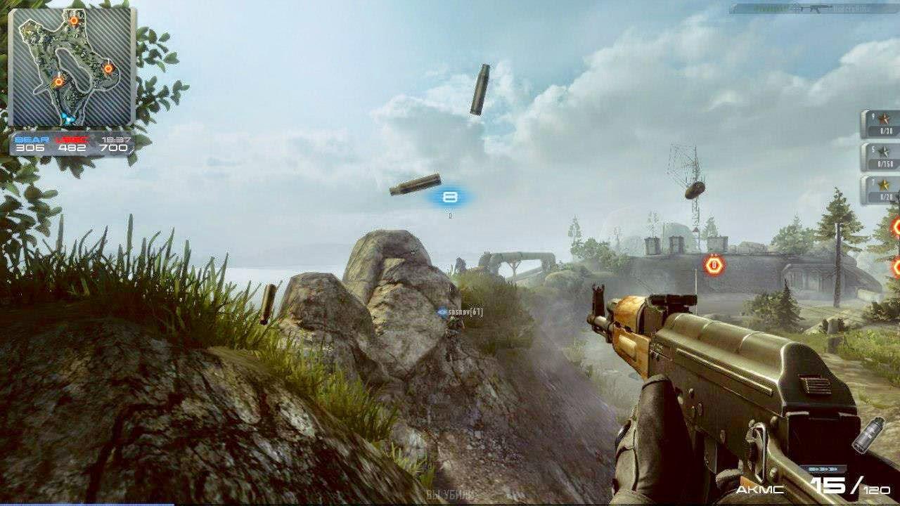 شرح لعبة contract wars على الكمبيوتر اللعبة المنافسة لكروس فاير 2014