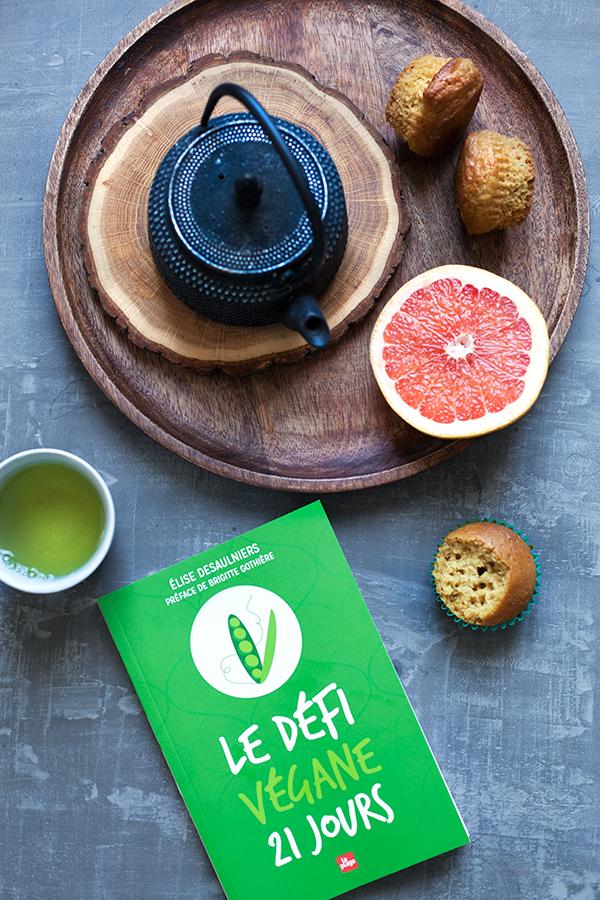 Les muffins du Défi Végane, retrouvez la recette dans le livre !