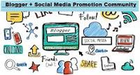 Bloggers + Social Media Promotion community
