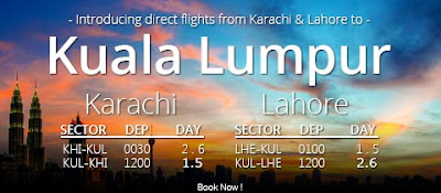 Shaheen Air Lahore to Kuala Lumpur Ticket Price 2016