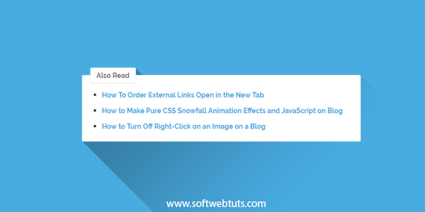 How to automatically add related article links in blogger