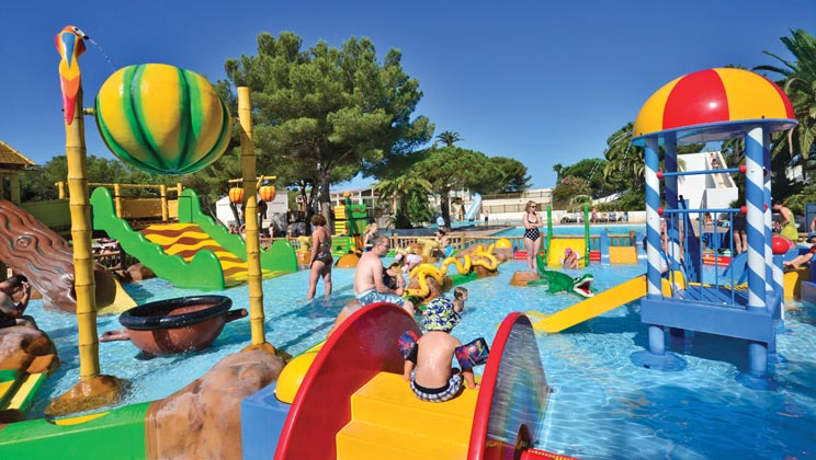 Holiday inspiration for May half term 2019 | Eurocamp's five best-selling parks - La Baume Campsite Swimming Pool