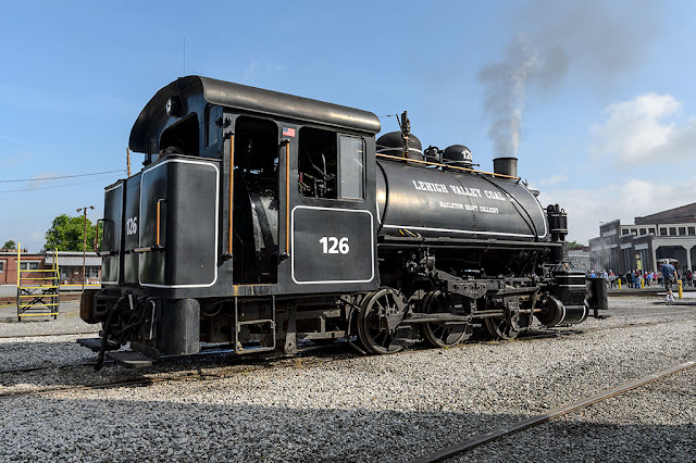 Lehigh Valley Coal #126 at the NC Transportation Museum