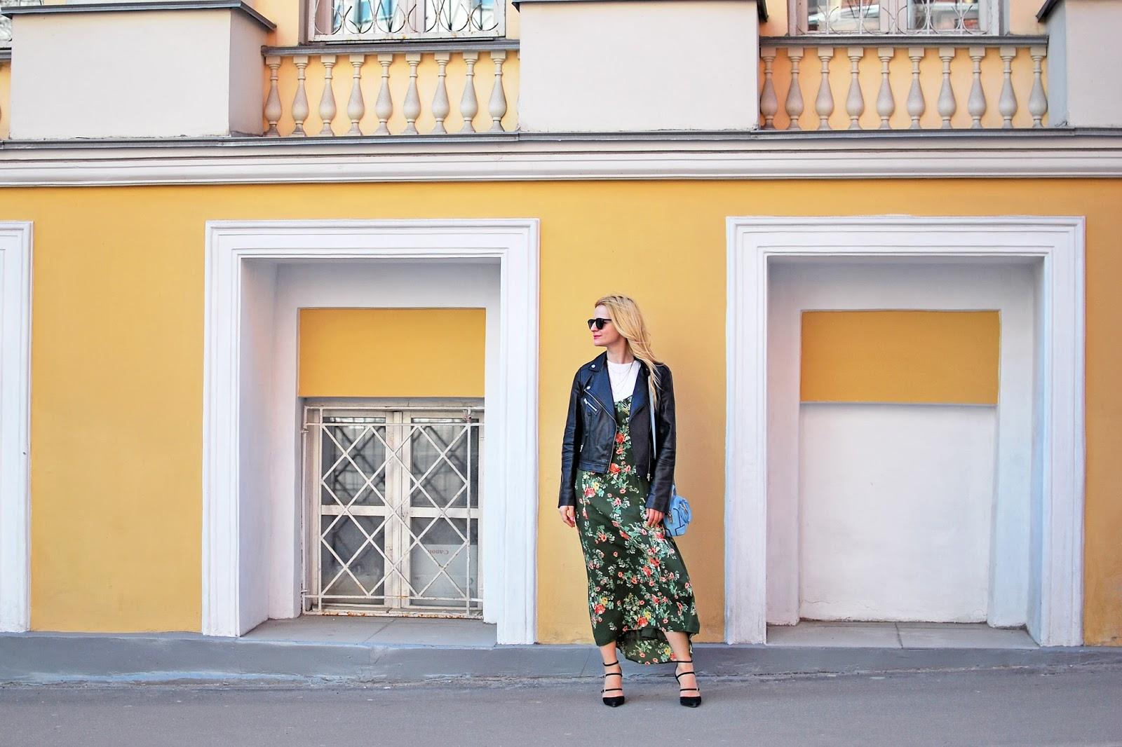 fashion trends florals, fashion blog russia, модный аутфит, модный лук