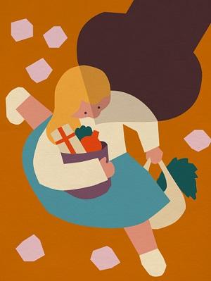 ilustraciones por Anna Kövecses | creative line drawings, cool stuff, pictures | imagenes bellas chidas, dibujos bonitos hermosos, juego de lineas y formas continuas