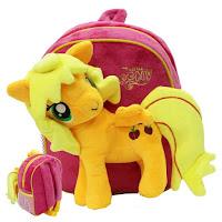MLP Fake Applejack Plush Backpack