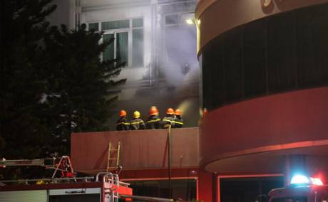 Quảng Ngãi Cháy khách sạn Mỹ Trà khách bỏ chạy tán loạn
