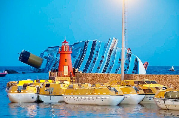 Cruise vessel Costa Concordia