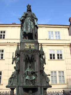 Карл IV в Праге