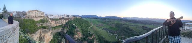 Tajo de Ronda, parte da Andaluzia, na Espanha.