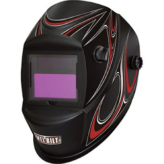 variable auto darkening welding helmet