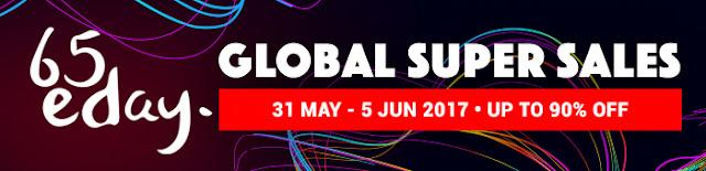 65eDay - Global Super Sales event Di ezbuy Malaysia