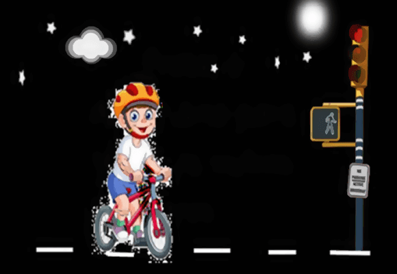 Bicicleta-passeio-noite
