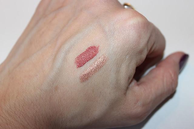 fards à paupières et rouge à lèvres The balm les petites bulles de ma vie