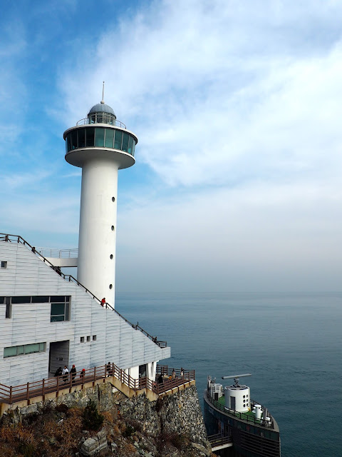 Yeongdo Lighthouse, Taejongdae Park, Busan, South Korea