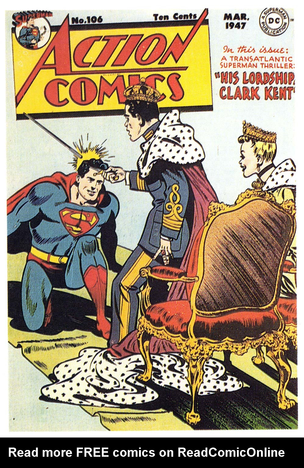 Read online Action Comics (1938) comic -  Issue #106 - 1