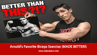 Arnold's Favorite Biceps Exercise (MADE BETTER!)