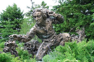 Chicago Botanic Garden Carolus Linnaeus By Robert Berks