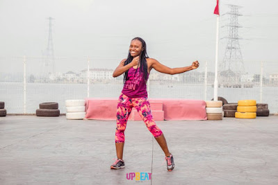ZUMBA WITH FABILA AT UPBEAT CENTRE IN LEKKI PHASE 1