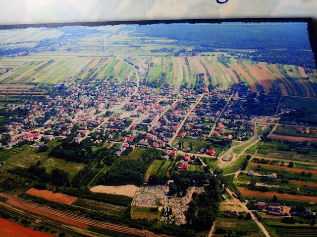 Frampol z góry (zdjęcie zdjęcia)