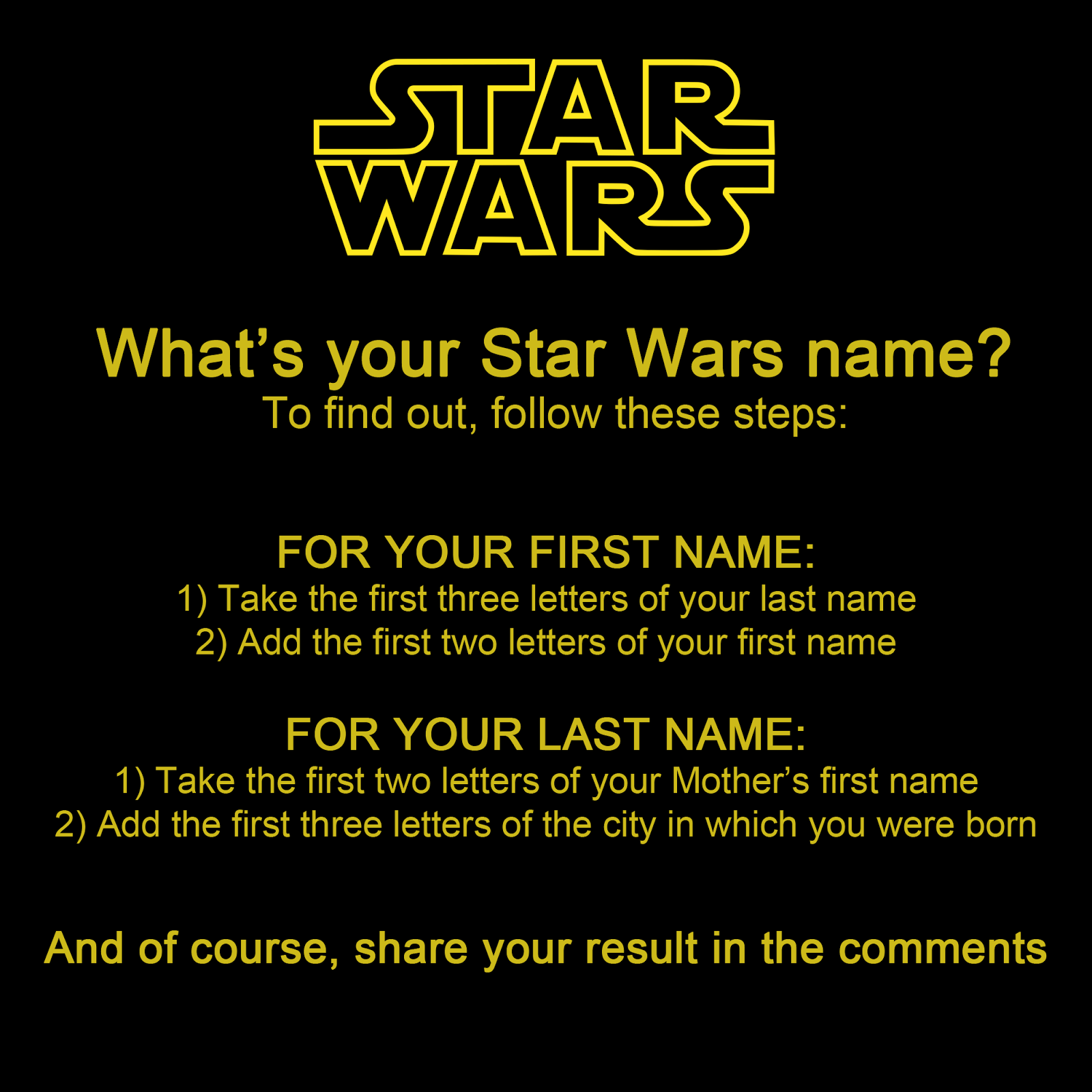 star wars namen