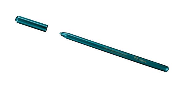 Natura Una, Lápis Retrátil Para Olhos, Verde Metalizado