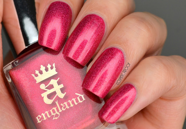 A England Shall Be My Queen Swatch