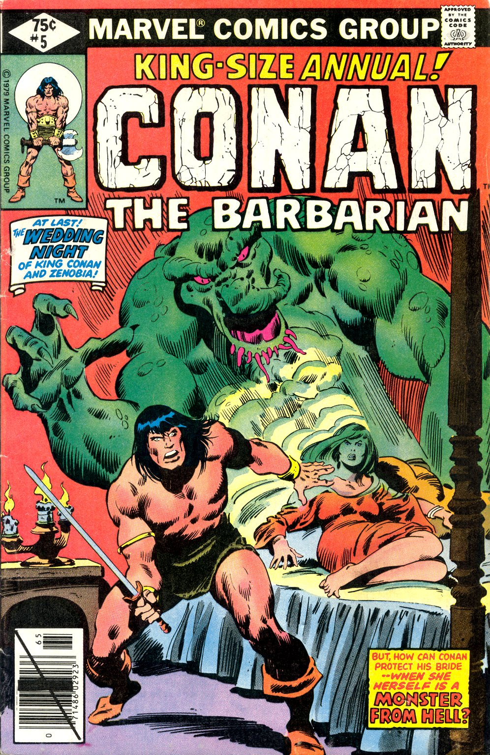 Conan the Barbarian (1970) Annual_5 Page 1