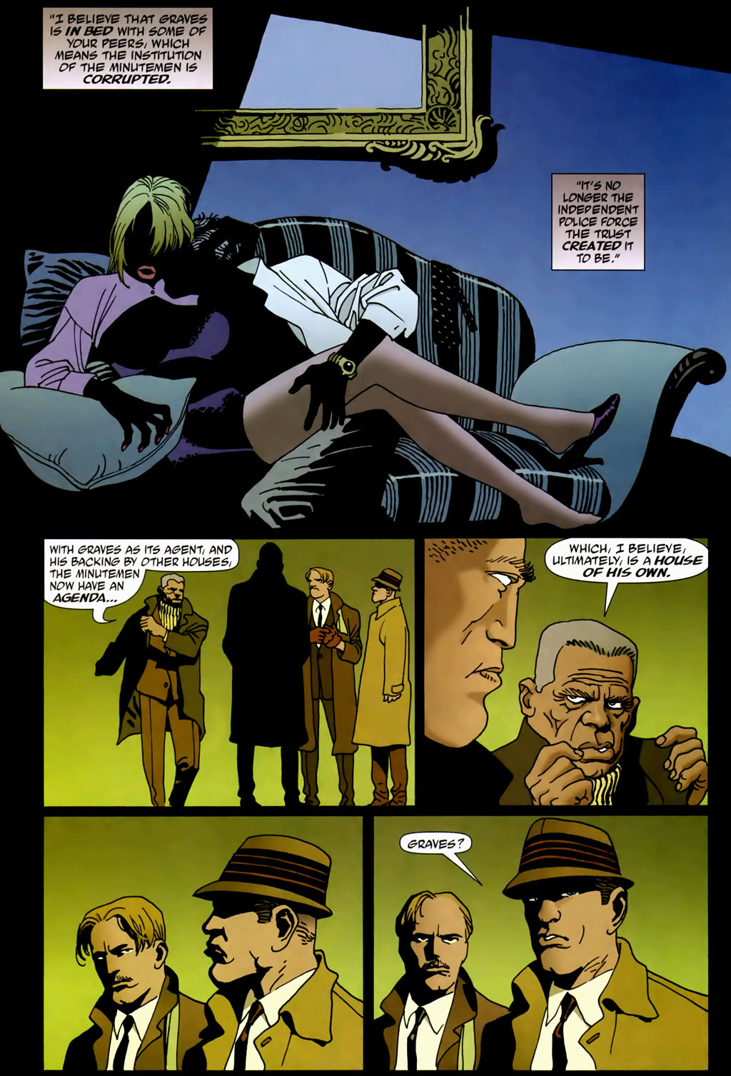Read online 100 Bullets comic -  Issue #69 - 21