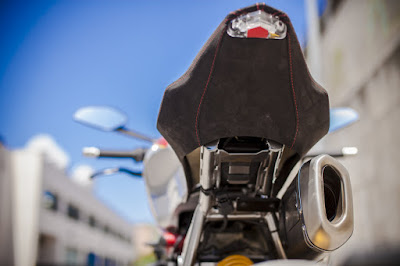 Ducati Monster 1200 S seat