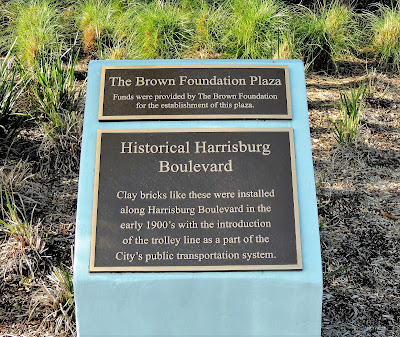 Historical Harrisburg Boulevard Historical Marker - The Brown Foundation Plaza